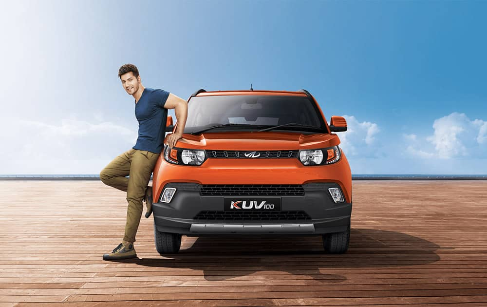 Mahindra has launched compact SUV 'KUV 1OO' with a starting price tag of Rs 4.42 lakh (ex-showroom, Pune).
