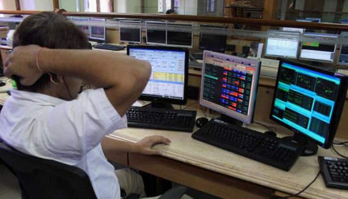 Sensex plummets 318 points to fresh 19-month low, Nifty cracks below 7,500-level