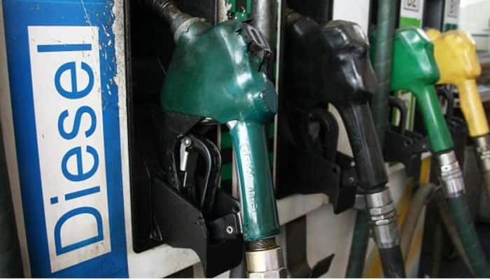Petrol price slashed by 32 paise per litre, diesel by 85 paise