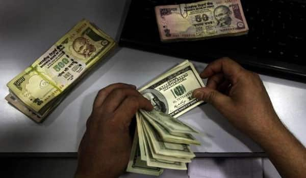 Rupee at fresh 28-month low Vs USD, down 30 paise at 67.59