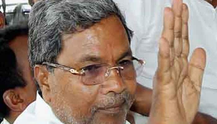 Karnataka CM Siddaramaiah rejects claims that he slapped a govt official
