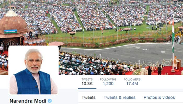 PM Narendra Modi is now 2nd most followed Indian on Twitter