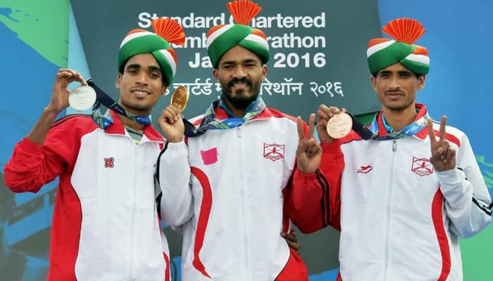 Mumbai Marathon: Gopi, Kheta Ram qualify for Rio Olympics; Nitendra Singh Rawat sets course record