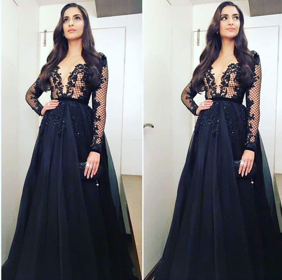 Sonam Kapoor :- In @paolo_sebastian styled by @rheakapoor MUA @namratasoni @artinayar @abhilashatd @chandi…    -twitter