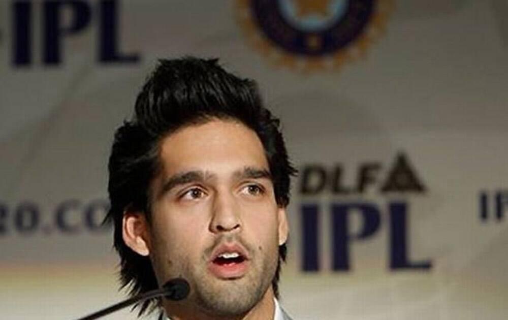 Siddharth Mallya, son of UB Group Chairman Vijay Mallya.