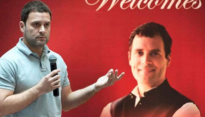 Rahul Gandhi gets twitter bashing for 'Steve Jobs of Microsoft' gaffe-Watch