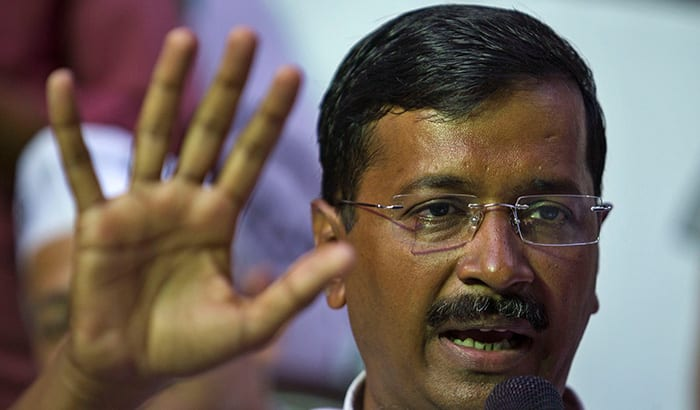 Kejriwal ink-attack: Cop guarding CM was asked to get off stage?