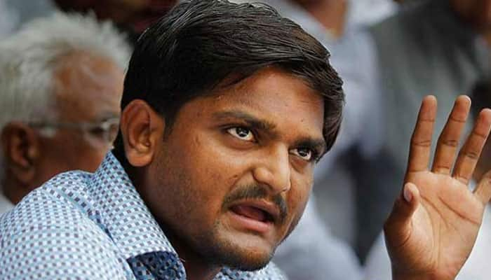 Hardik Patel rules out compromise with Gujarat government