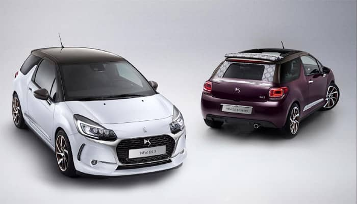 2016 DS3 and DS3 Cabrio launched in Paris