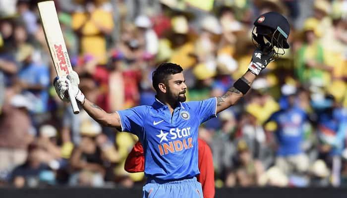Aus v Ind 2016, 4th ODI: Virat Kohli slams 25th ton, fastest to reach the mark