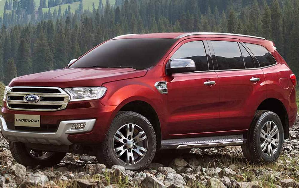 The All-New Ford Endeavour (Pic courtesy: Ford India website)
