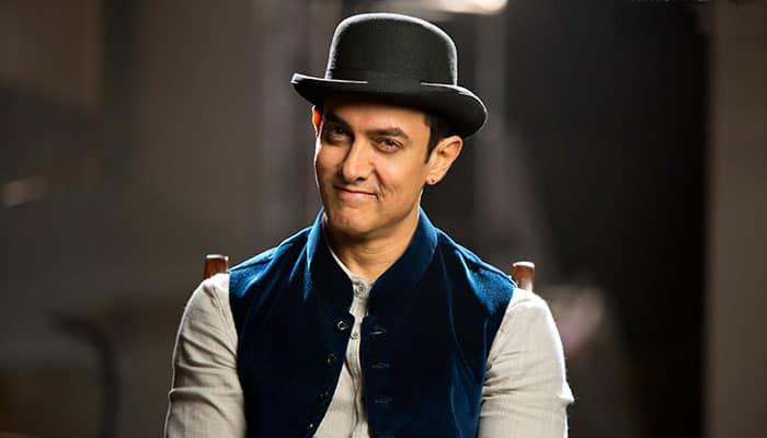 Aamir Khan stopped from entering his own vanity van?