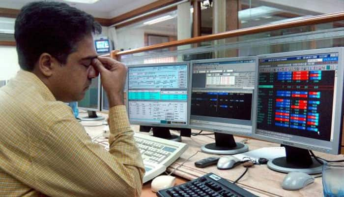 Sensex cracks below 24K again, rupee plunges past 68-mark