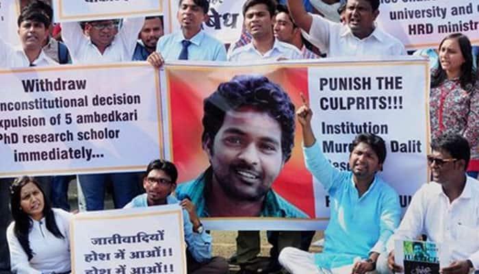 University of Hyderabad revokes suspension of four Dalit students