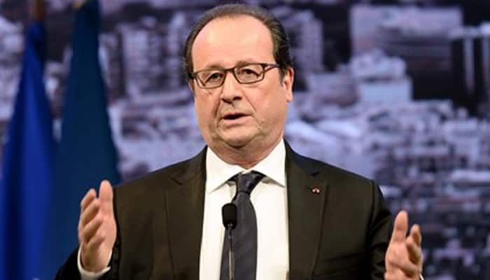 France`s Hollande says Iraq, Syria air strikes to be `accelerated`