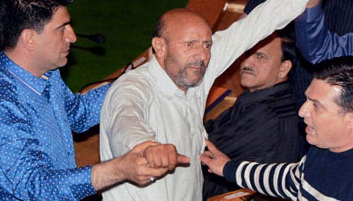 J&K MLA Sheikh Abdul Rashid threatens to hand over BJP leader to Lashkar-e-Toiba