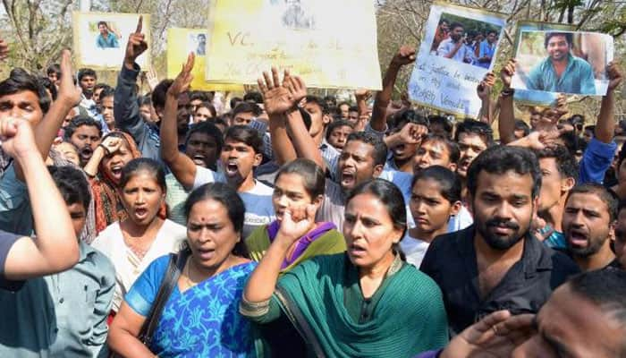 Rohith Vemula suicide: Students seek unconditional revocation of suspension