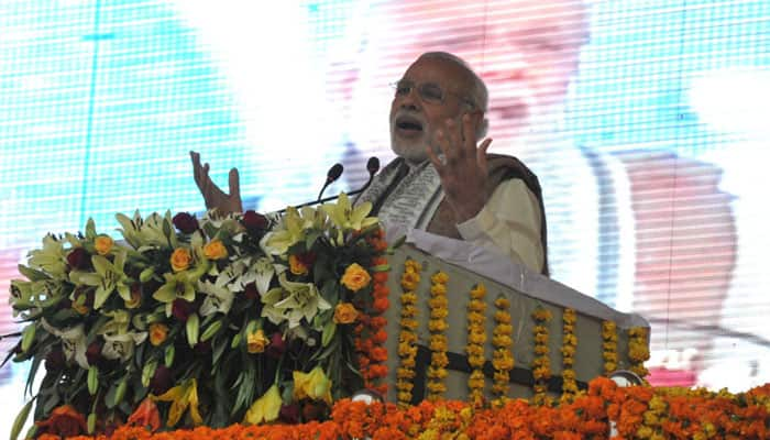Target not only boosting economy but to transform lives: PM Narendra Modi