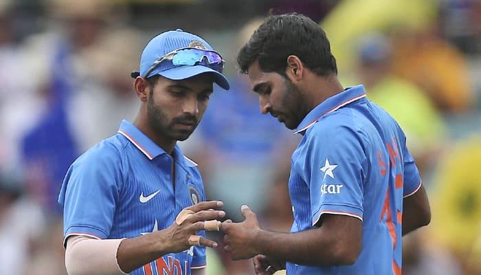 India vs Australia: Rishi Dhawan replaces injured Bhuvneshwar Kumar, Gurkeerat Singh in as cover for Ajinkya Rahane