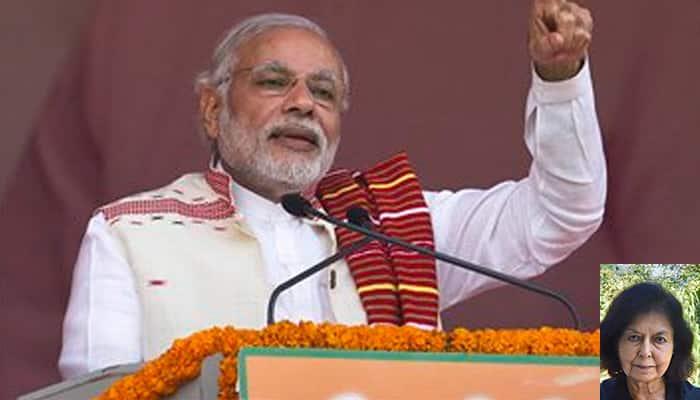 Modi govt's culture minister may one day drape sarees around naked statues at Khajuraho: Nayantara Sahgal