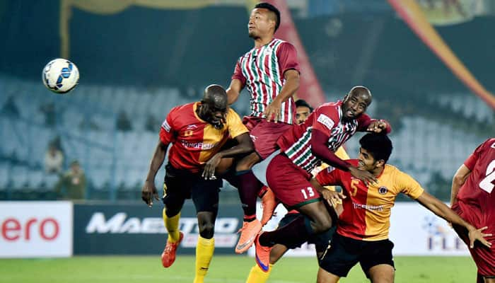 I-League 2016: East Bengal, Mohun Bagan play out 1-1 drawn in 313th Kolkata Derby
