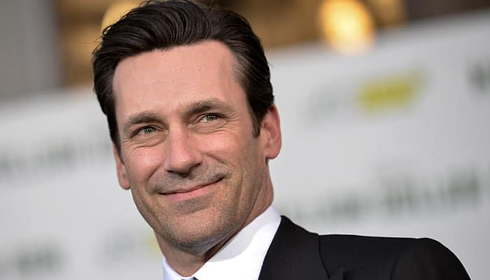 Oops! Jon Hamm's name spelled wrong on his Golden Globe trophy