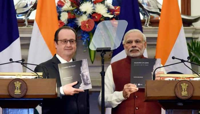FULL TEXT: PM Modi, French Prez Francois Hollande's joint-statement on bilateral ties