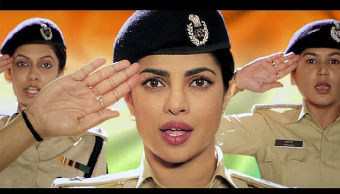 Watch video: Priyanka Chopra sings Indian National Anthem, captivates with tribute to women in Indian Police!