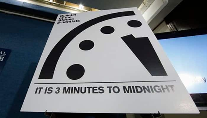 'Doomsday' clock remains at three minutes to midnight: What does it mean