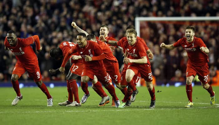 Liverpool reach League Cup final after penalty drama
