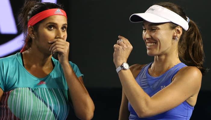 Australian Open: Sania Mirza hails partnership with Martina Hingis after entering women's doubles final