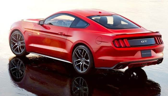 Ford Mustang to hit Indian roads today