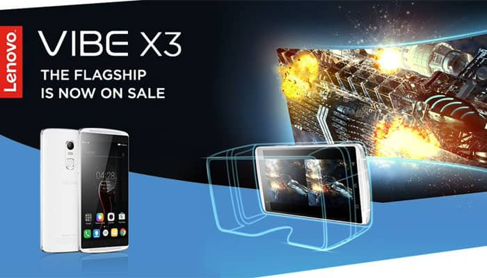 Lenovo Vibe X3 goes on sale In India