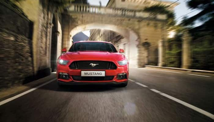 Ford Mustang unveiled in India, launch in 2nd quarter of 2016