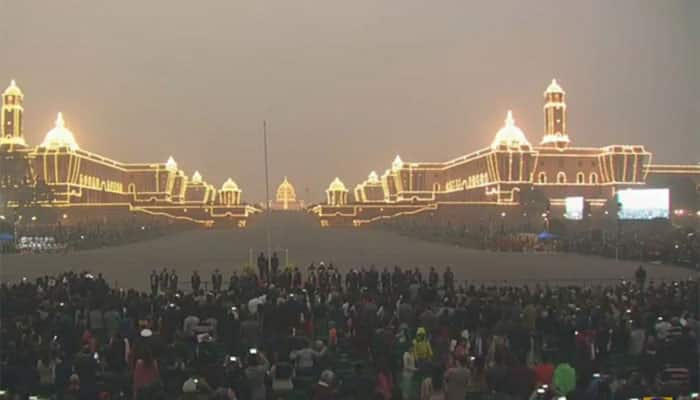 Colourful Beating Retreat ceremony marks end of 67th Republic Day celebrations