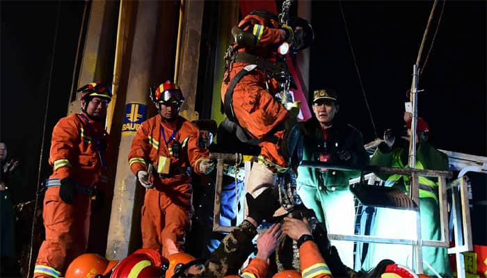 Four miners rescued in China after 36 days trapped underground