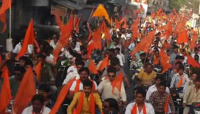Man tonsured, paraded on streets for 'converting' Hindus to Christianity, forcibly making them eat 'beef'
