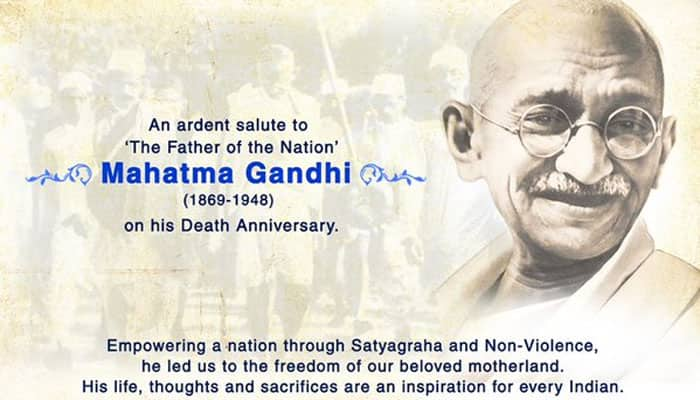 Stand together in silence for 2 minutes: PM Modi's appeal on Mahatma Gandhi's death anniversary