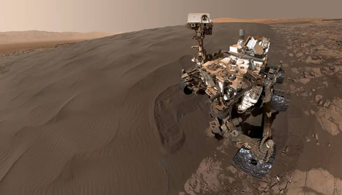 See pic: Sandy selfie from NASA's Curiosity Mars rover!