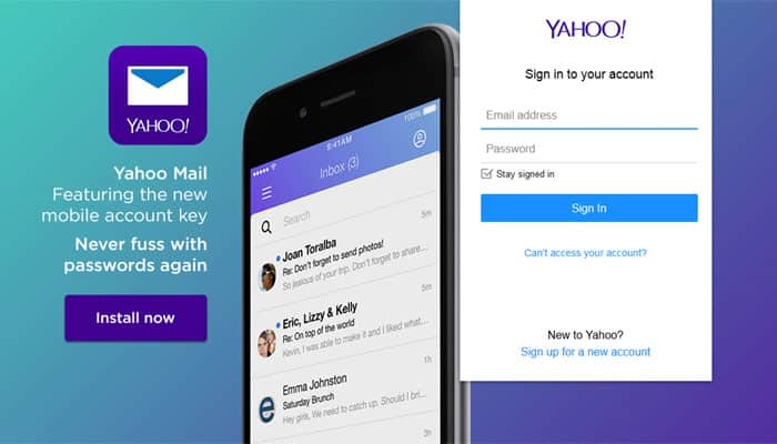Yahoo Mail updated to compete with Microsoft, Google