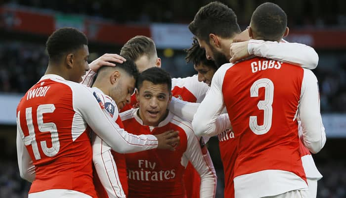 Fit again Alexis Sanchez fires Arsenal, Manchester City cruise in FA Cup