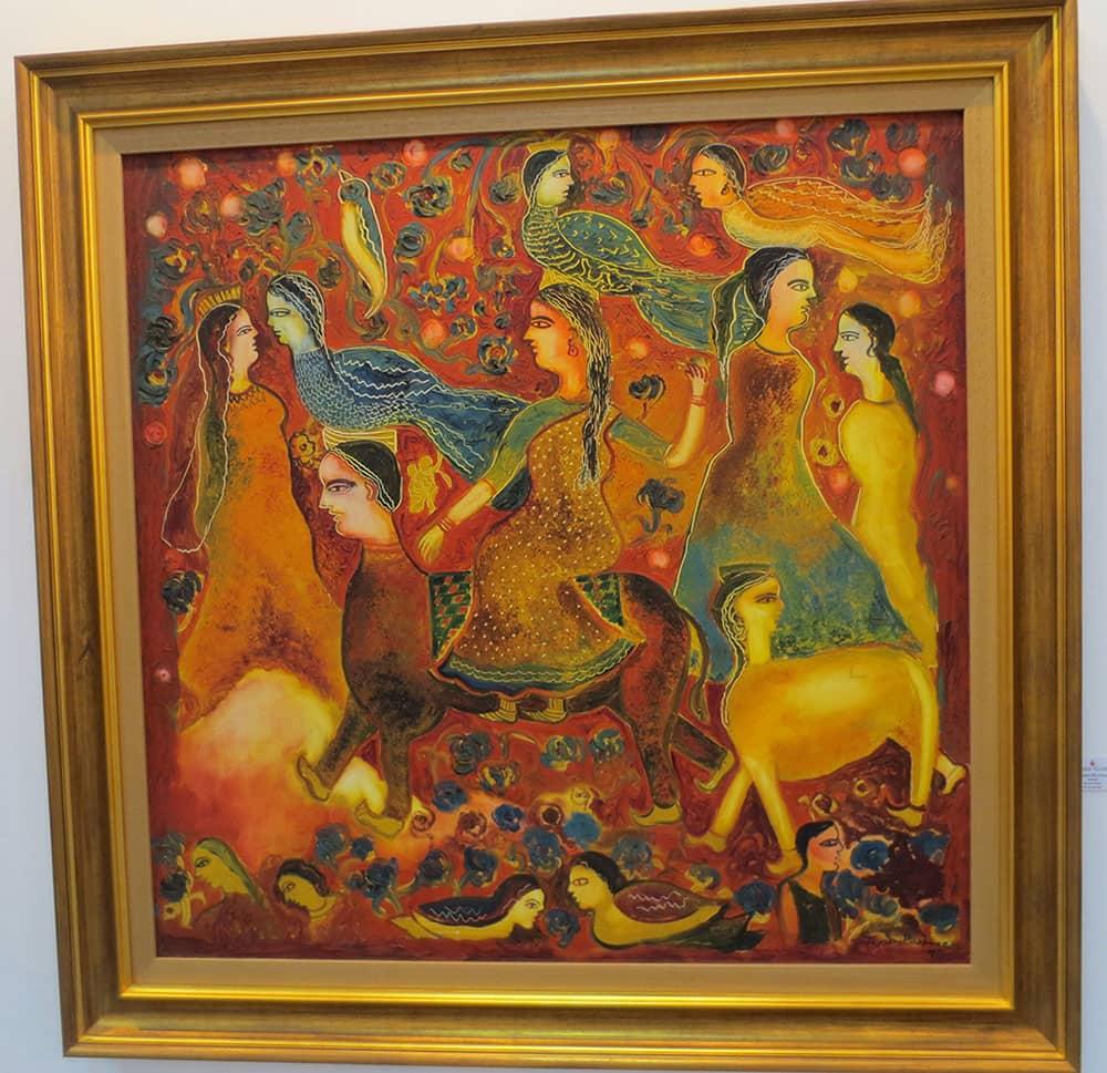 'Untitled' by Jayasri Burman.