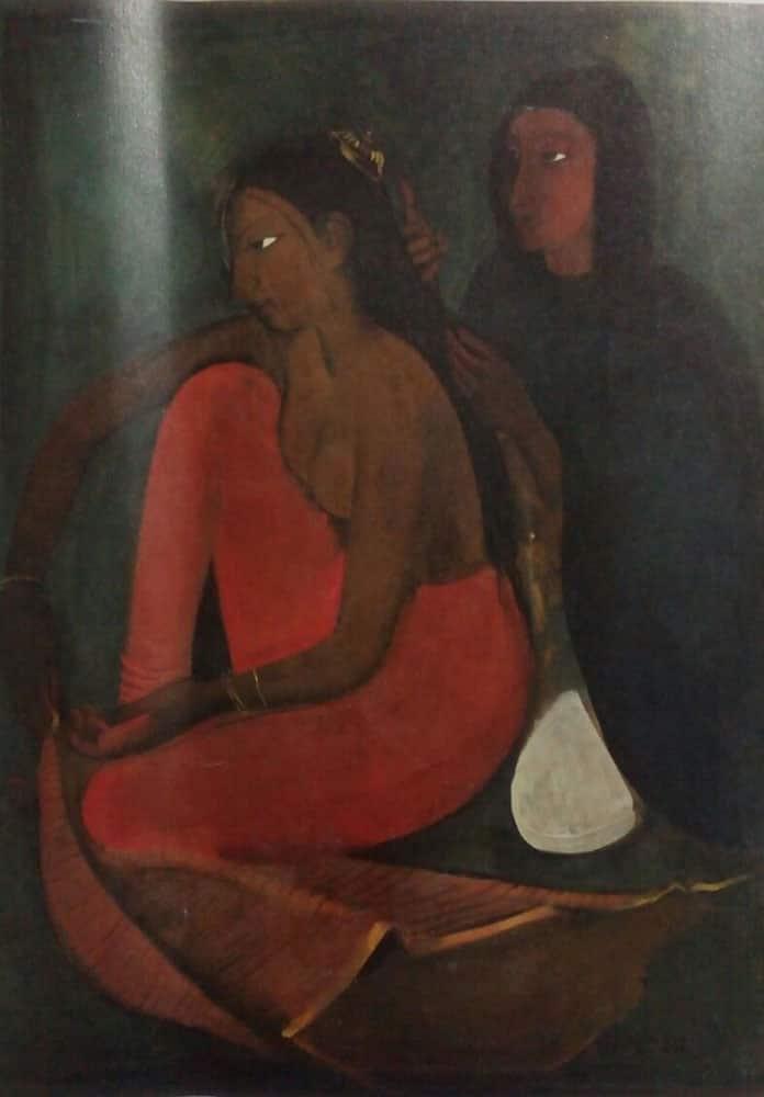 'Dressing the Bride' – Amrita Sher-Gil