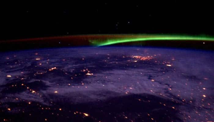 See pic: Scott Kelly shares stunning image of aurora nights taken from space station!