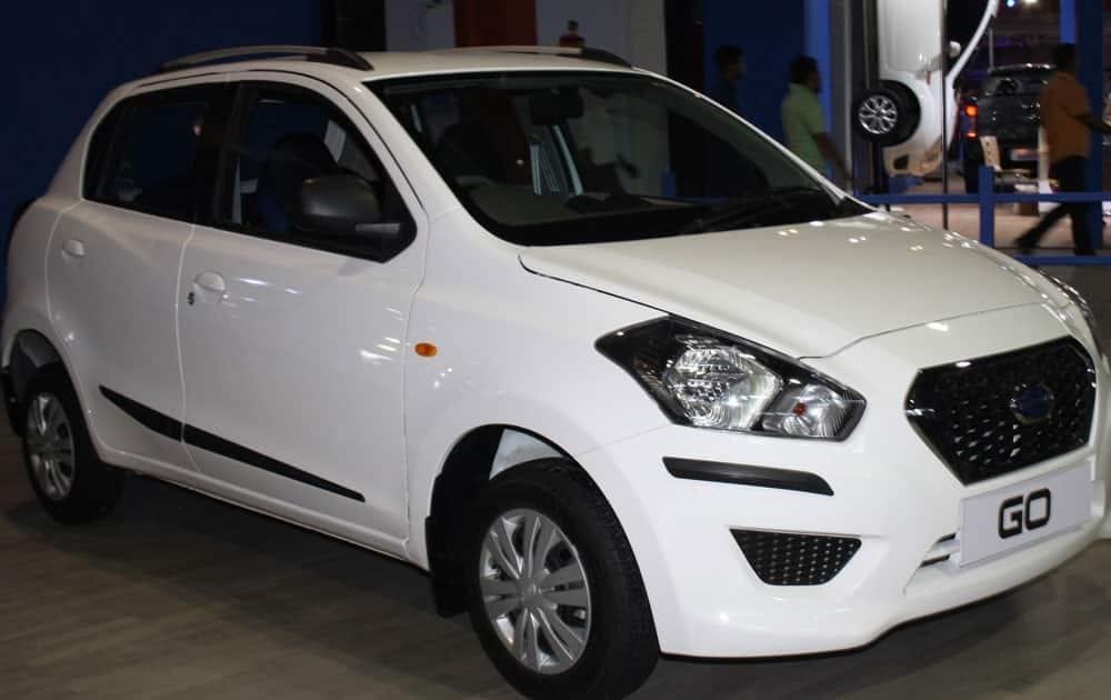 5. Hyundai's Datsun Go. Offers a mileage of 20.3 km/lit