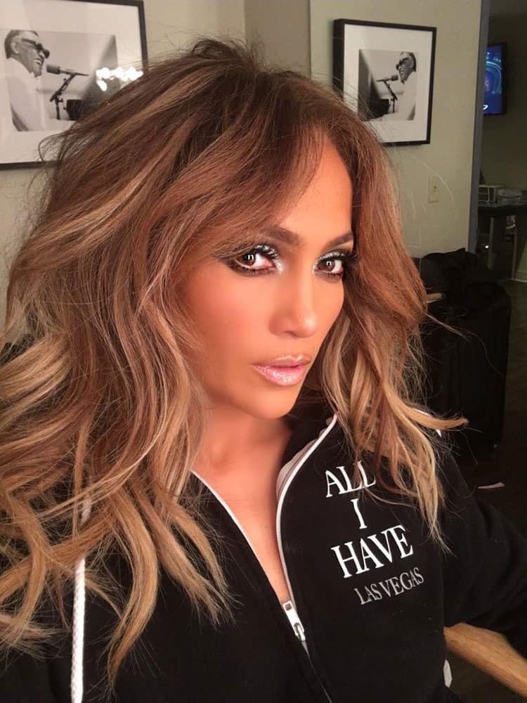 Jennifer Lopez :- #ALLiHAVE GLAM #JLoVegas -twitter