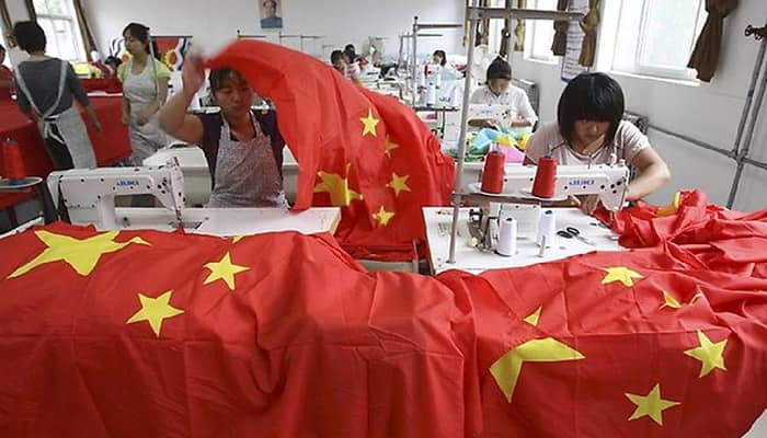 China manufacturing index falls to three-year low: Govt