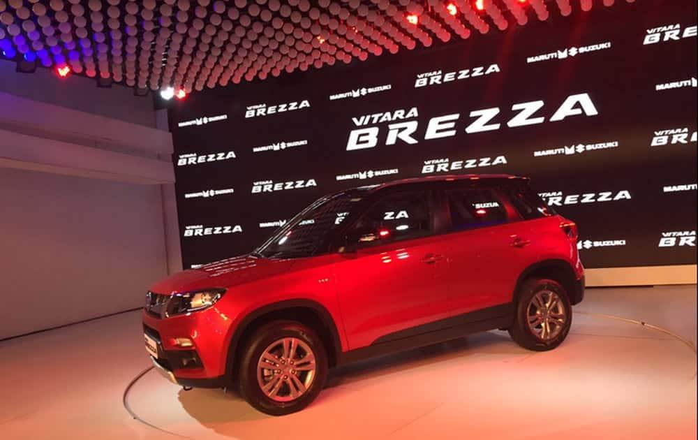 The biennial automotive show Auto Expo 2016 kicked off  with the unveiling of the much awaited Maruti Suzuki Vitara Brezza.