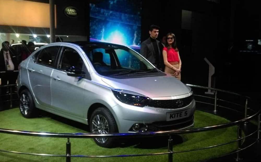 Tata Motors unveils Kite 5 Sub-Compact Sedan.