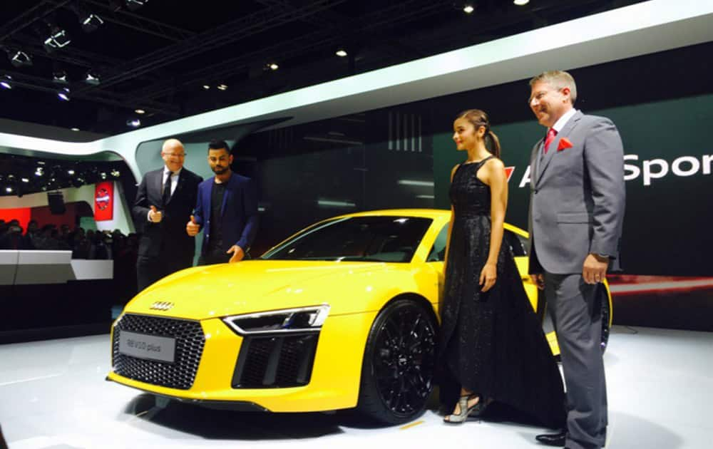 Auto Expo 2016: Audi launches new R8 V10 Plus for Rs 2.47 crore